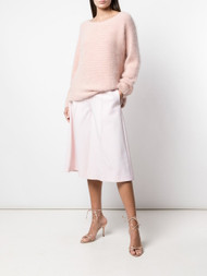 Adam Lippes Textured Mohair Knit Sweater