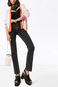 Marni Cashmere Colorblock V Neck Cardigan
