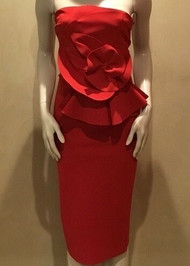 Chiara Boni La Petite Robe Hebe Dress in Passion