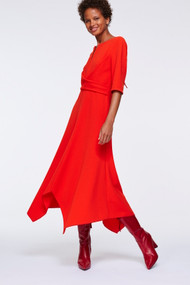 Dorothee Schumacher Sophisticated Perfection Draped Dress
