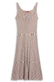 Missoni Sleeveless Dress in Tan