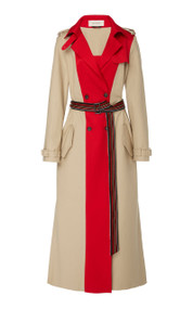 Hellessy Multicolor Long Trench Coat
