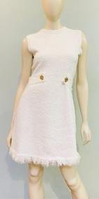 Oscar de la Renta Knit Tweed Dress