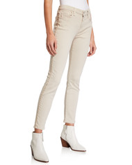JEN7 by 7 For All Mankind Gold Piped Skinny Jeans