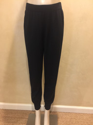 Fabiana Filippi Long Black Knit Pants