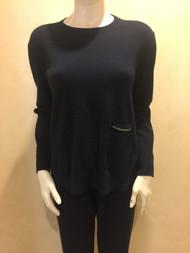 Fabiana Filippi Wool Blend Sweater in Black