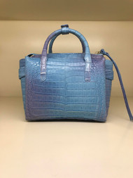 Nancy Gonzalez Small Christy Tote in Ocean
