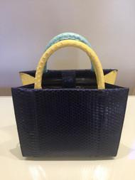 Nancy Gonzalez Mini Elaphe Tote Bag