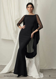 Chiara Boni La Petite Robe Kacey Illusion Long Dress