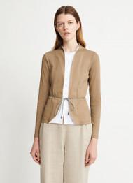 Fabiana Filippi Open Jacket with Tie