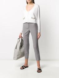 Fabiana Filippi Color Striped Pocket Cardigan
