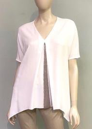 Fabiana Filippi Bead Embellished Top in White
