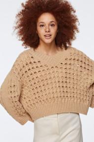 Dorothee Schumacher Soft Pullover in Desert