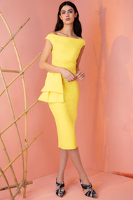 Chiara Boni La Petite Robe Lemon Cassie Dress