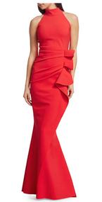 Chiara Boni La Petite Robe Geranium Gudrum Gown