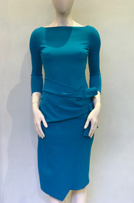 Chiara Boni La Petite Robe Peacock Blue Zelma Dress