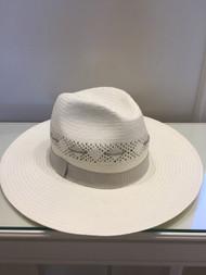 Fabiana Filippi Ecru Woven Hat