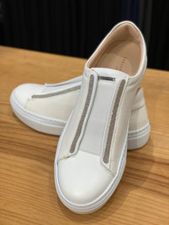 Fabiana Filippi Ivory Virginia Slip-on
