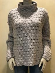 Hania Grey Knit Sweater