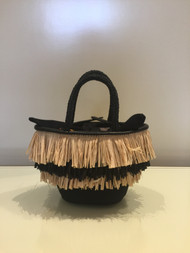 Dorothee Schumacher Tiny Scuba Straw Bag