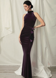 *COMING SOON* Chiara Boni La Petite Robe Gudrum Velvet Long Dress