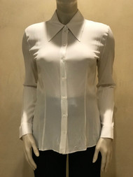 Michael Kors Button Down Silk Blouse