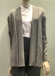 Fabiana Filippi Grey Open Front Cardigan