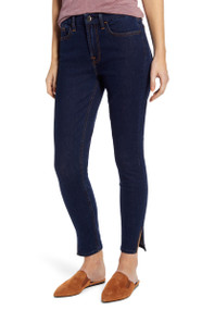 JEN7 by 7 For All Mankind Cropped Skinny Split Jeans