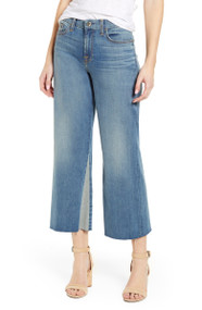 JEN7 by 7 For All Mankind Cropped Contrast Panel Jeans
