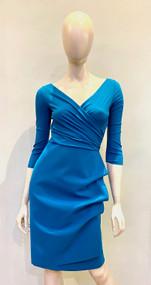 Chiara Boni La Petite Robe Peacock Blue Florien Dress
