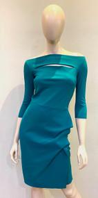 Chiara Boni La Petite Robe Verde Kate Dress