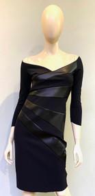 Chiara Boni La Petite Robe Black Kaliska Dress