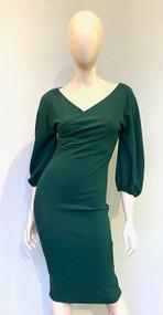 Chiara Boni La Petite Robe Pine Widad Crepe Dress