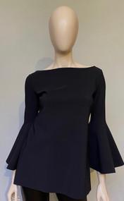 Chiara Boni La Petite Robe Black/White Natty Bicolor Top