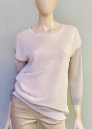 Fabiana Filippi Color Block Sleeve Sweater