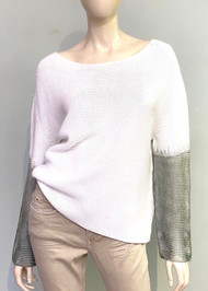 Fabiana Filippi Gradient Sleeve Sweater