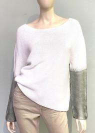 Fabiana Filippi Gradient Sleeve Sweater
