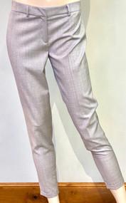 Fabiana Filippi Cropped Cuffed Pants in Grey