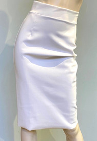 Chiara Boni La Petite Robe White Lumi Skirt