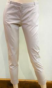 Fabiana Filippi Slim Cropped Pants in Grey