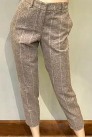 Fabiana Filippi Striped Cropped Pants