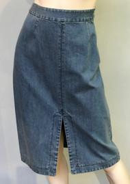 Michael Kors Denim Pencil Skirt in Chambray