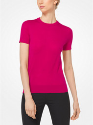 Michael Kors Cashmere Top in Magnolia
