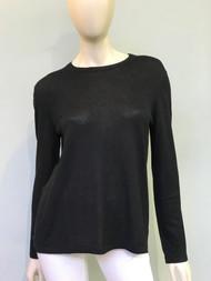 Michael Kors Long Sleeve Top in Black