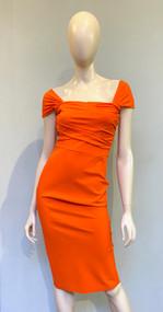 Greta Constantine Tangerine Juntura Dress