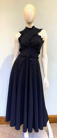 Greta Constantine Black Adrian Dress