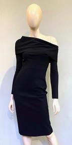 Greta Constantine Black Lorra Dress