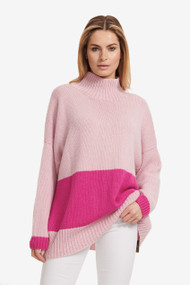 Hania Color Block Sweater