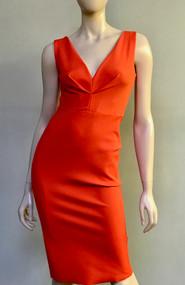Greta Constantine Tangerine Kingston Dress