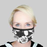 Grayse Sequin Rose Face Mask Kit